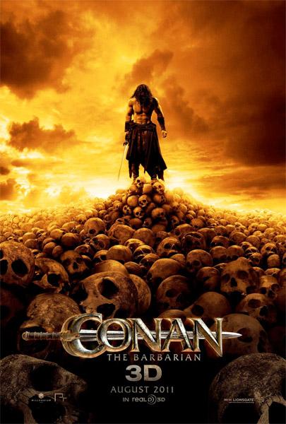 Cartel de Conan el Bárbaro