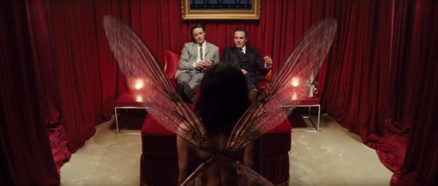 Charles Xavier y Erik Lehnsherr conocen a Angel Salvadore