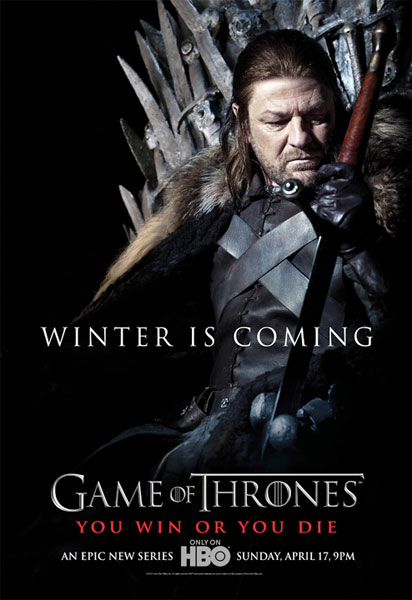 "Cartel de ""Game of Thrones"": Eddard Stark"