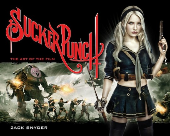"Portada del libro ""Sucker Punch: The Art of the Film"""