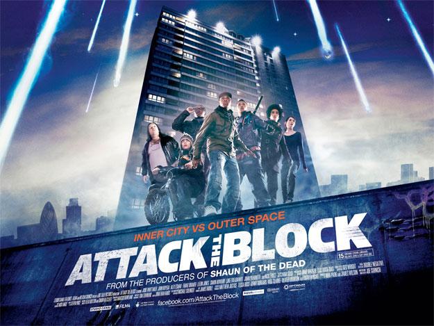 Primer cartel de Attack the Block de Joe Cornish