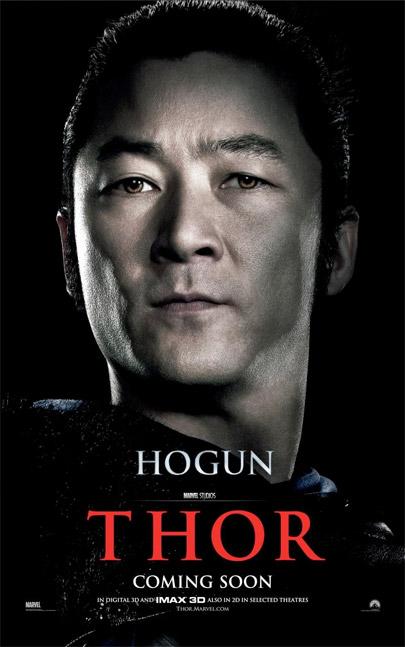 Primer vistazo a Hogun en un cartel de Thor... me faltan otros dos