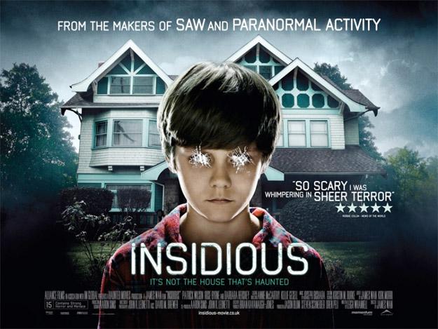 Nuevo cartel mal rollito de Insidious de James Wan