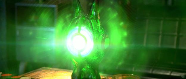 Fotograma del nuevo metraje de Green Lantern desvelado en la WonderCon 2011