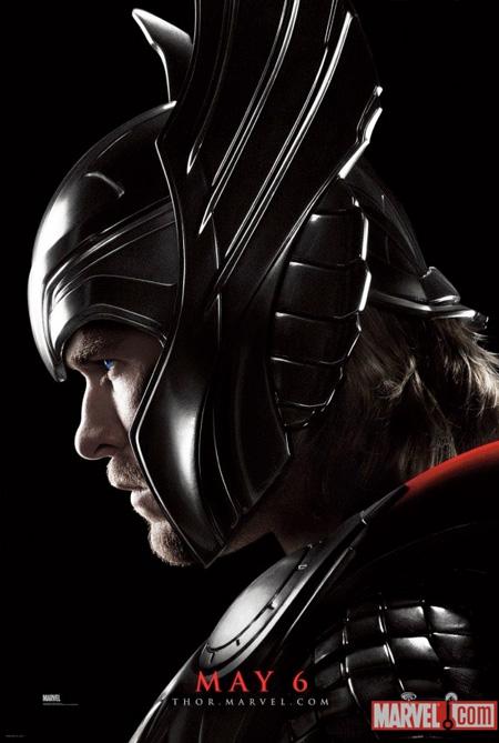 Nuevo cartel de Thor con el deseado elemento casco presente