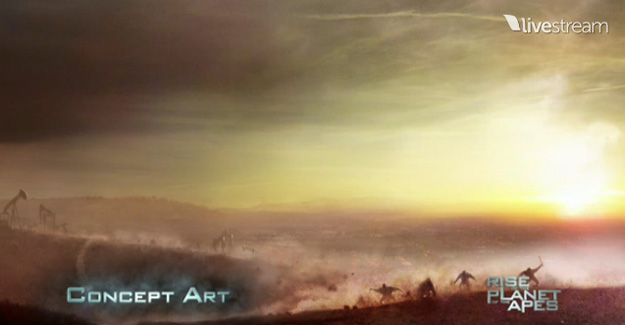 Concept Art de Rise of the Planet of the Apes