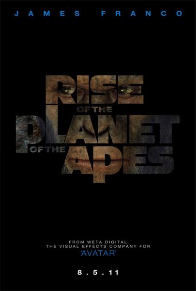 Primer amago de cartel de Rise of the Planet of the Apes