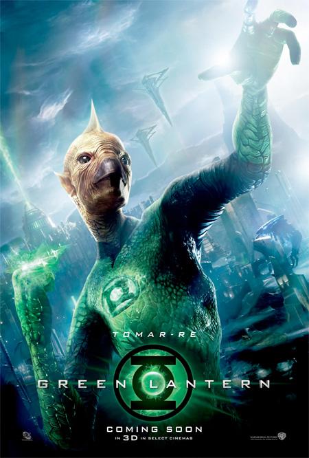 Nuevo cartel de Green Lantern con Tomar-Re en dimensión fantástica