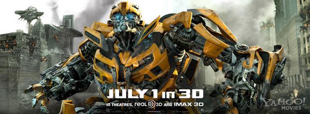 Nuevo banner para Transformers: el lado oscuro de la luna
