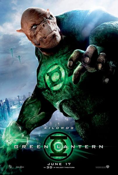Nuevo cartel de Green Lantern... Kilowog!!!