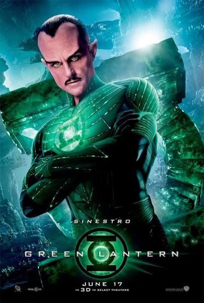 Nuevo cartel de Green Lantern... Sinestro!!!