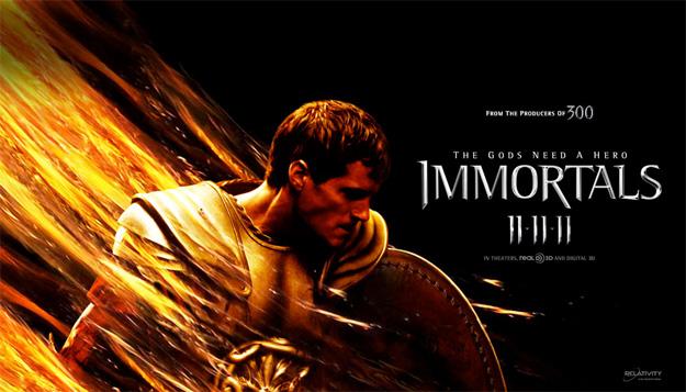 Nuevo póster banner de Immortals