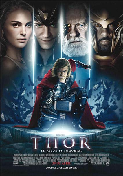 Cartel español de Thor