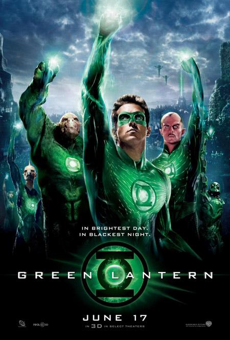 Cartel de Green Lantern, el estreno en españa el 29 de julio...pfff