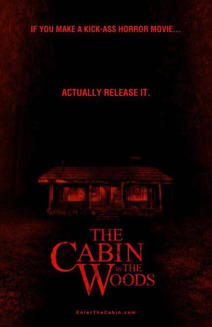 Otro cartel de The Cabin in the Woods celebrando el fichaje por Lionsgate