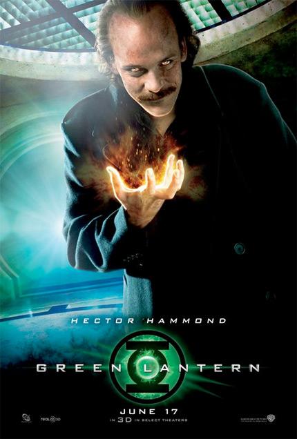 Otro cartel más de Linterna Verde: Hector Hammond