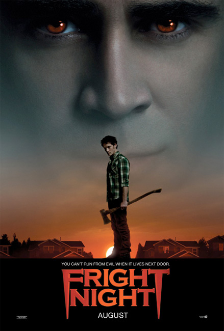Primer cartel de Fright Night... muy clásico y por ello me gusta