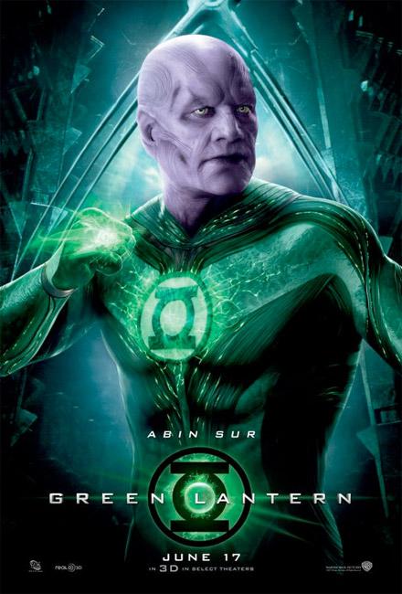 Nuevo cartel de Linterna Verde con Abin Sur como protagonista