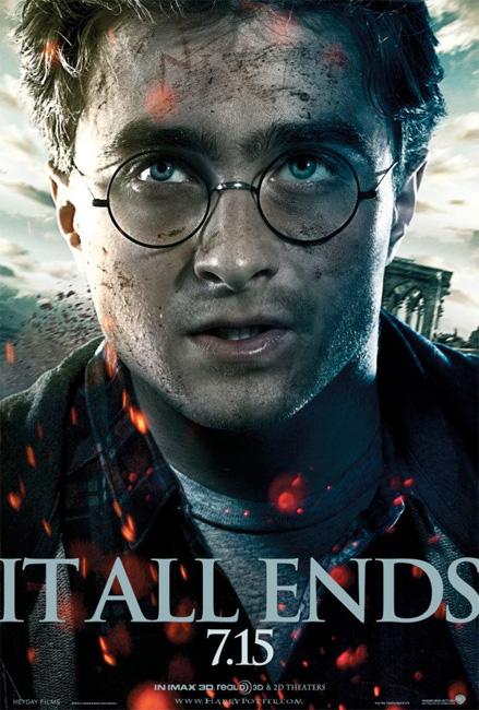 Otro cartel más de Harry Potter y las reliquias de la muerte (2ª parte)