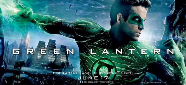 Otro banner más para promocionar Green Lantern