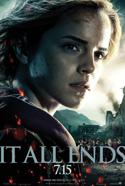 Nuevo cartel de Harry Potter y las reliquias de la muerte (2ª parte)