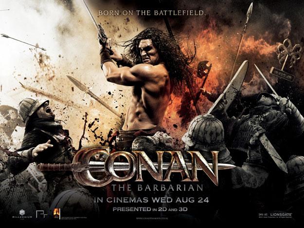 Nuevo cartel de Conan el bárbaro