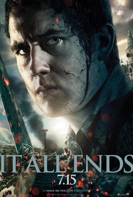Nuevo cartel de Harry Potter y las reliquias de la muerte (2ª parte)... Neville Longbottom