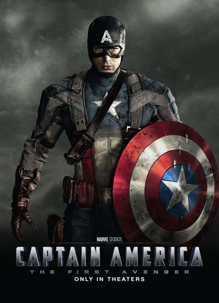 ¿Póster oficial de Captain America: The First Avenger?
