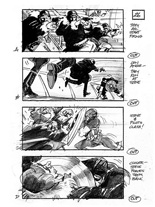 Storyboards de Captain America: The First Avenger