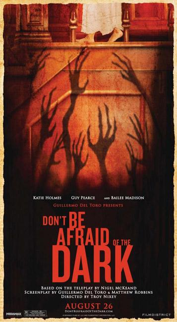 Cartel de Don't be Afraid of the Dark