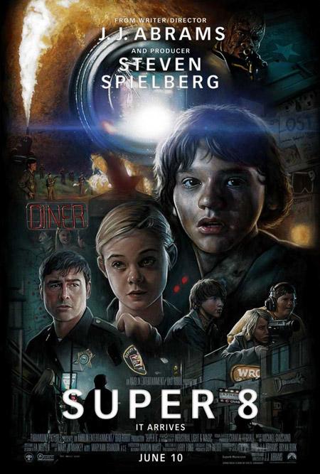 Nuevo cartel de Super 8... a la Drew Struzan!
