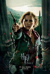 Carteles de Harry Potter y las reliquias de la muerte (2ª parte)