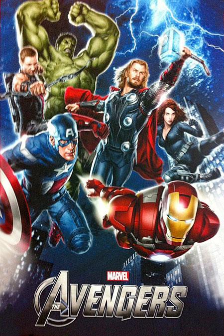 Póster promo de The Avengers