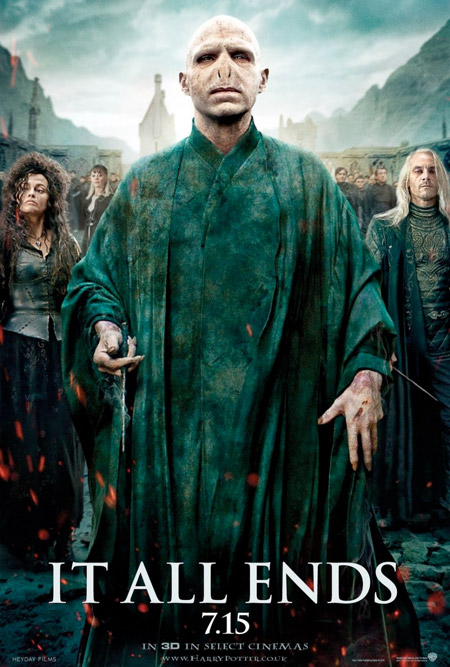 El nuevo cartel de Harry Potter y las reliquias de la muerte (2ª parte)