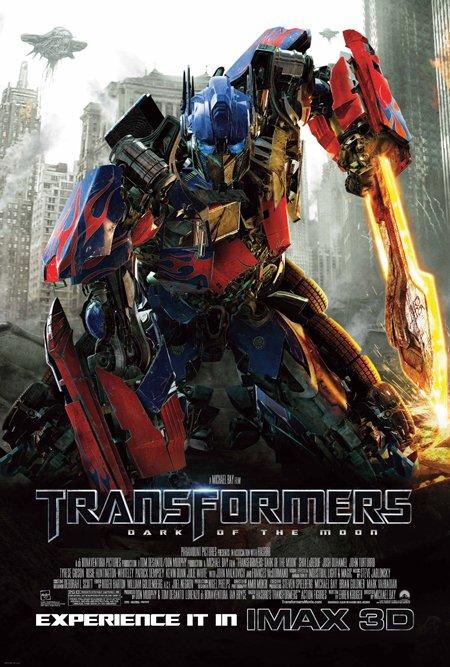 Nuevo cartel de Transformers: el lado oscuro de la luna