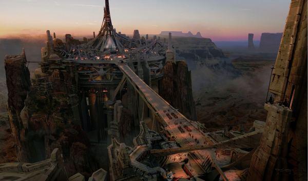 Primer detalle de Concept Art de la adaptación de John Carter de Marte que veremos en los cines