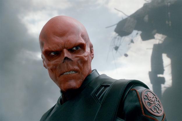 Generoso gran vistazo a Cráneo Rojo en Captain America: The First Avenger