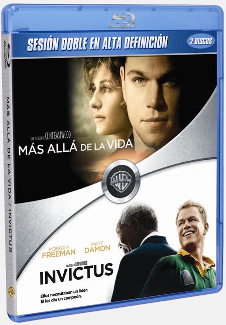 Edición doble Más allá de la vida + Invictus en Blu-Ray
