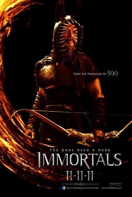 Nuevo cartel de Immortals de Tarsem Sighn