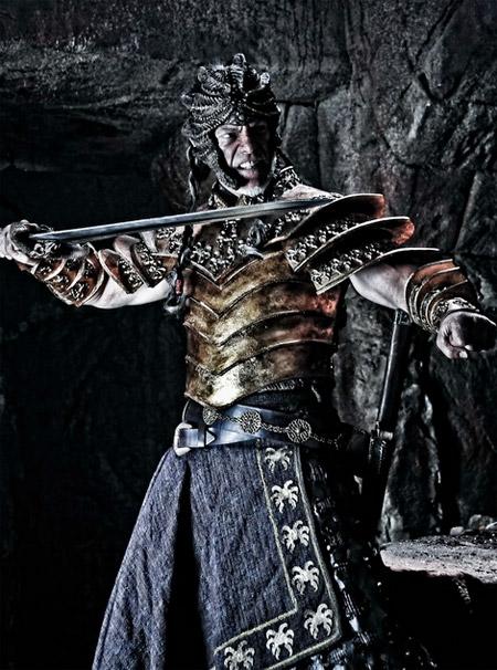 El gran enemigo de Conan... el villano Khalar Zym (Stephen Lang)