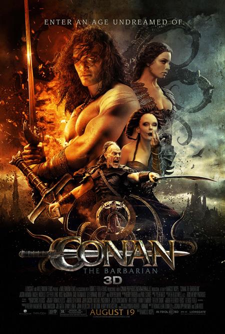Bestial nuevo póster de Conan el bárbaro