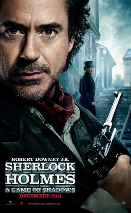 Primer cartel de Sherlock Holmes: A Game of Shadows