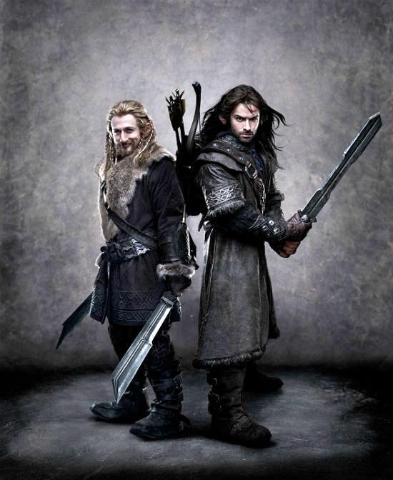 Fili y Kili, los primos de Thorin II Escudo de Roble
