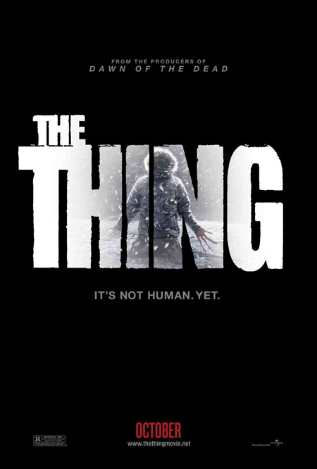 El primer cartel de The Thing