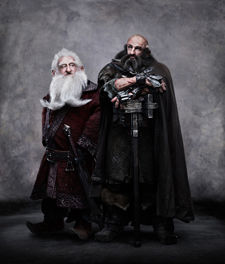 Balin y Dwalin en The Hobbit