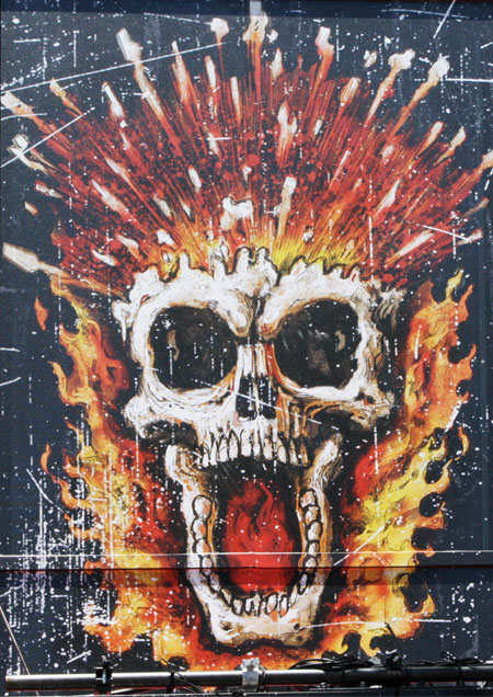 Cartel de Ghost Rider 2: Spirit of Vengeance