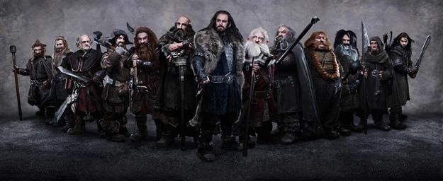 Todos los enanos de la adaptación al cine de The Hobbit