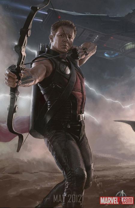 Cartel promo de The Avengers: Ojo del Halcón
