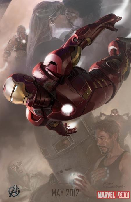 Cartel promo de The Avengers: Iron Man