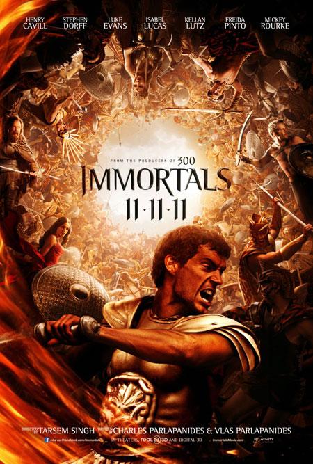 Nuevo cartel de Immortals